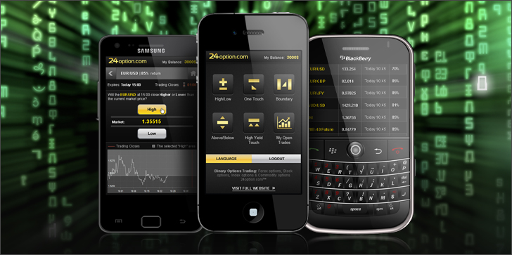 binary options apps
