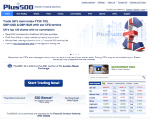 plus500 review screenshot