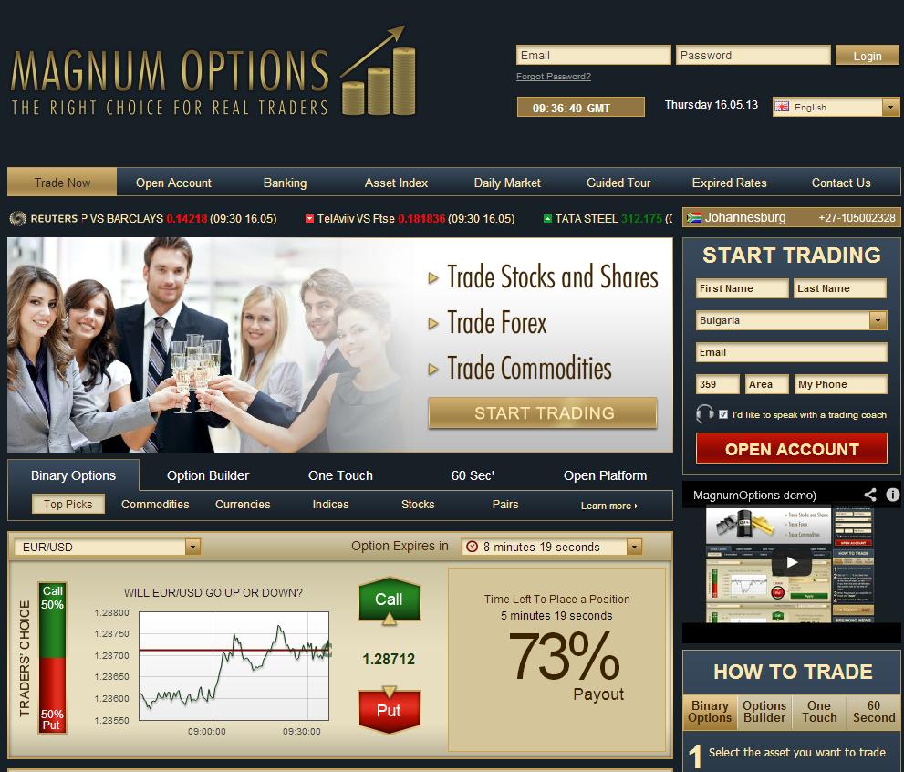 Magnum-Options-Platform