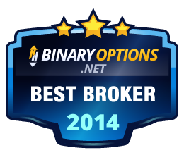 BinaryOptions.net Best Broker 2014 Award