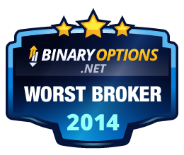 BinaryOptions.net Worst Broker Award