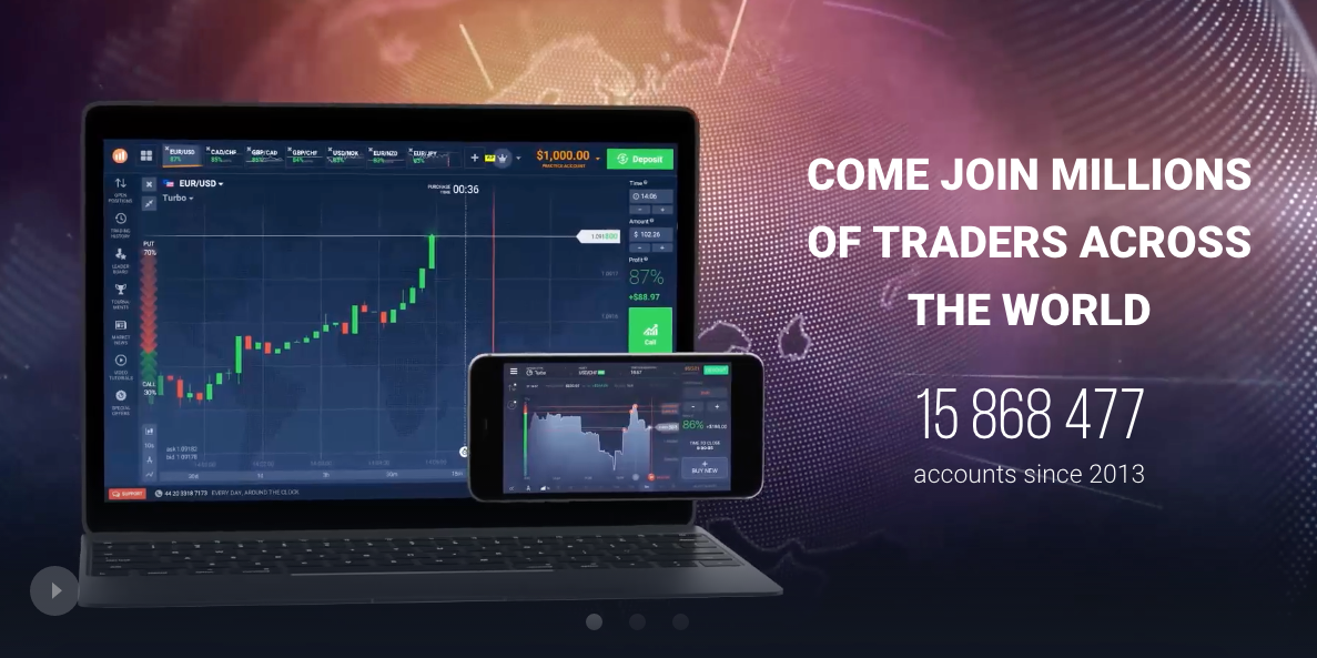 Learn IQ Option Stock Trading Practice Platform Online - UK