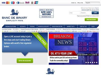 Binary options trading nederland