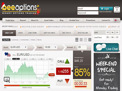 Go binary options net
