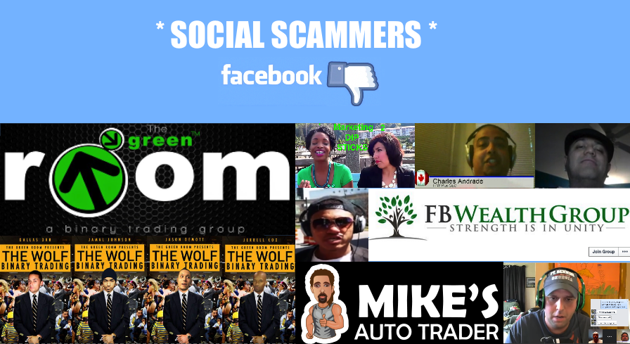 Binary options trading scams