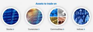 EZtrader asset list