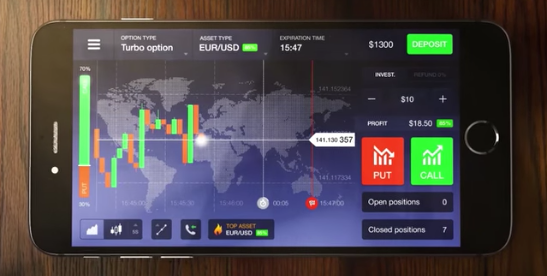 IQ Option iOS - download official app in one click - IQ