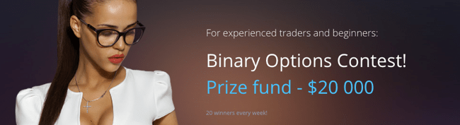 Binary options demo contest 2017
